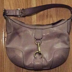 Lilac coach purse